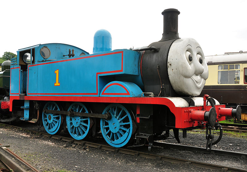 Thomas at Buckfastleigh railway station