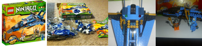 Jay's Storm Jet Fighter by LEGO