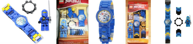 LEGO Kids Watch Ninjago Blue Ninja - 9003103