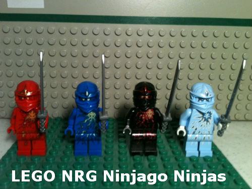 Lego NRG Ninjagos