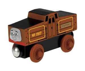 Y086 Stafford wooden railway engine
