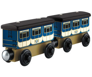 Thomas Wooden Railway Stephen's Coaches Y5022 by Fisher-Price