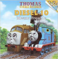 Thomas and the Magic Railroad Diesel 10 Means Trouble