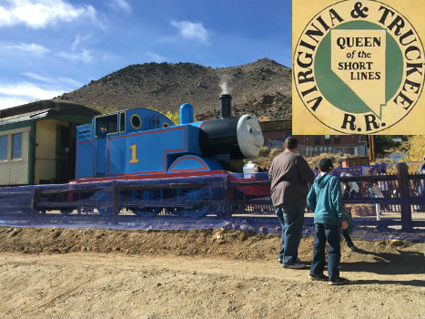 Day Out with Thomas Virginia City Nevada