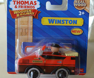 On Sale Winston Wooden Railway Vehicle Y4085
