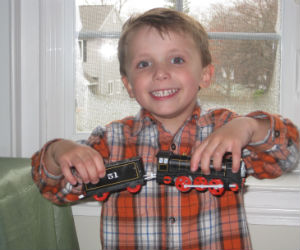 Trackmaster Hiro battery operated train and Adam