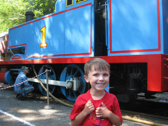 Adam during a Day Out with Thomas 2011