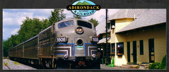 Adirondack Scenic Railroad Day Out with Thomas Train Ride