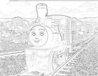Bash the logging loco from Misty Island Rescue