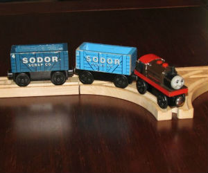 Thomas Wooden Railway - Bertram Engine