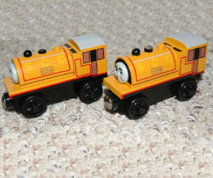 Thomas Wooden Railway - Bill and Ben engines