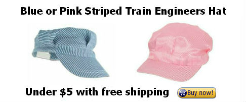 Engineers Caps to wear at a Day Out with Thomas event