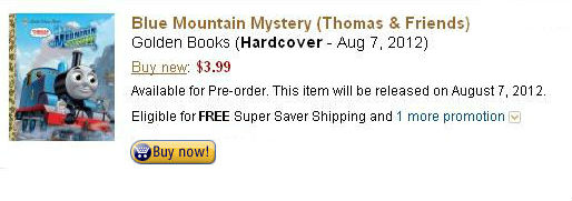 Blue Mountain Mystery Book