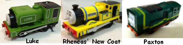 New 2012 Trackmaster Engines from Blue Mountain Mystery