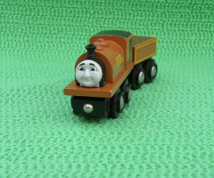 Wooden BRIO Duke train