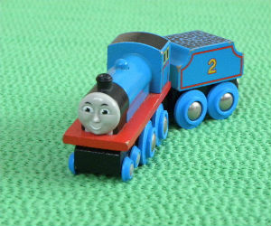 Wooden BRIO Edward train