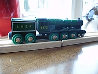BRIO Flying Scotsman wooden train
