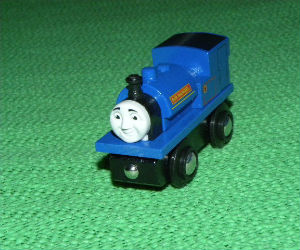 Wooden BRIO Sir Handel train