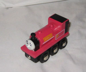 Wooden BRIO Skarloey train