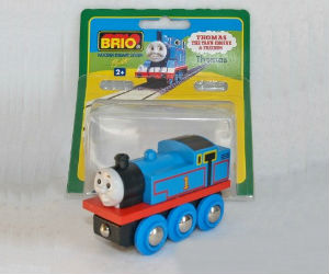 Wooden BRIO Thomas train