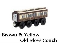 Brown & Yellow Old Slow Coach