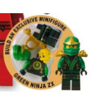 Special Edition Green Ninja Lloyd ZX mini figure
