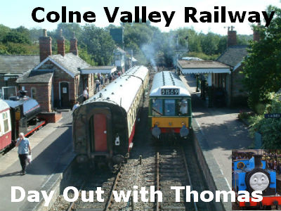 Colne Valley Railway and ride the trains with us!
