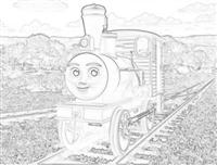 Dash the logging loco from Misty Island Rescue