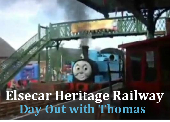Meet Thomas the Tank Engine at the Elsecar Railway