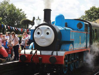 The Mid Hants Railway Watercress Line Day Out with Thomas