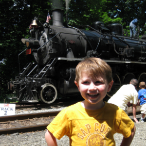 Charles at the Delaware River Railroad Excursions in Phillipsburg NJ