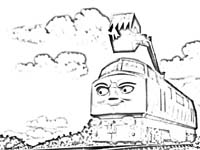 Free Day Of The Diesels Coloring Pages To Print Thomas The Train