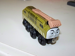 Thomas Wooden Railway - Diesel 10 Engine
