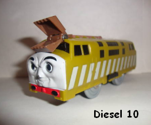 Diesel 10 battery operated train