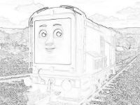 diesel 10 coloring pages - photo#23
