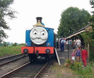 Thomas the tank engine at East Somerset Railway