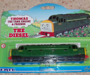 The Diesel D261 diecast ERTL train