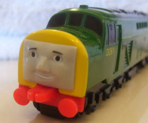 Derek diecast ERTL train