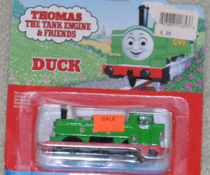 GWR Duck diecast ERTL trains