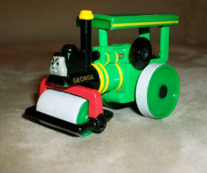 George diecast ERTL train