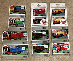 ERTL Gold Rail series of diecast trains and playsets