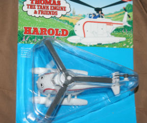 Harold helicopter diecast ERTL trains