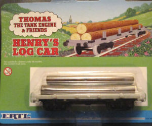 Henry's Log Car diecast ERTL trains