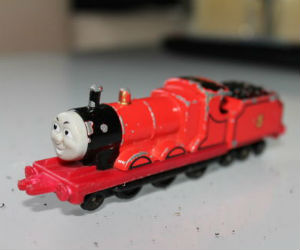 James diecast ERTL train