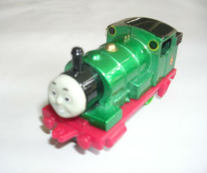 Metallic Percy diecast ERTL train