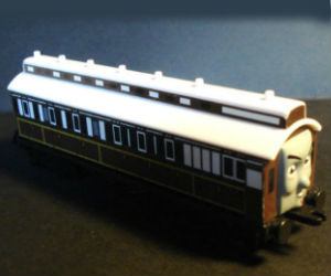 Old Slow Coach diecast ERTL train
