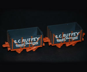 S.C. Ruffey on flatbed diecast ERTL
