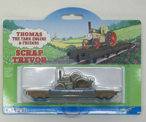 Scrap Trevor on flatbed diecast ERTL