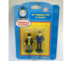 Sir Topham Hatt with porter diecast ERTL train