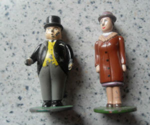 Sir Topham Hatt and Lady Hatt diecast ERTL train